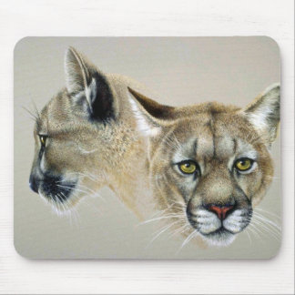 Soul mates, Cougars Mouse Pad