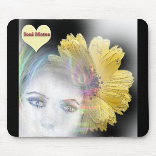 """""""Soul Mates Forever""""* Mouse Pad"""