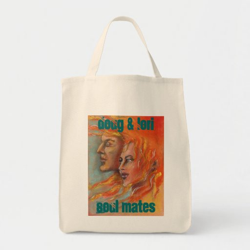 Soul Mates Personalized Gift Bags Totes Tote