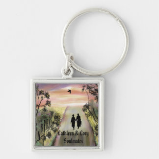 Soul Mates personalized key ring Key Chain
