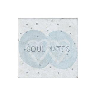 Soul Mates Stone Magnet
