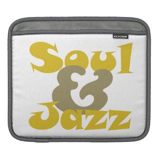 Soul music & jazz design iPad sleeve