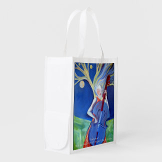 Soul Music Reusable Grocery Bag