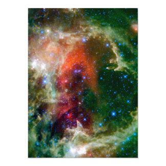 Soul Nebula a.k.a. Embryo Nebula 14 Cm X 19 Cm Invitation Card