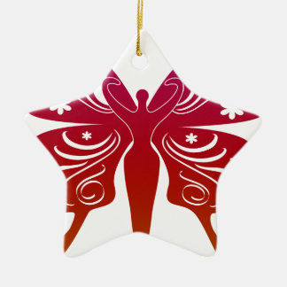 Soul Path Goddess Butterfly Christmas Ornament