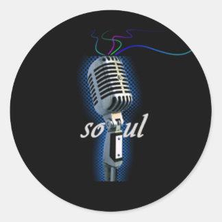 Soul Round Sticker