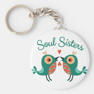 Soul Sisters Key Ring