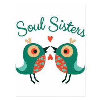 Soul Sisters Postcard
