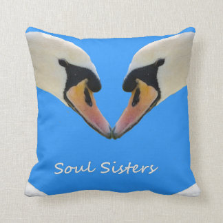 Soul Sisters. Throw Pillow