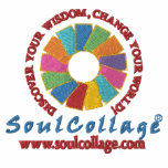 SoulCollage® Embroidered Ladies Pullover Hoodie