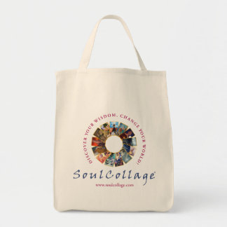 SoulCollage® Logo Grocery Bag