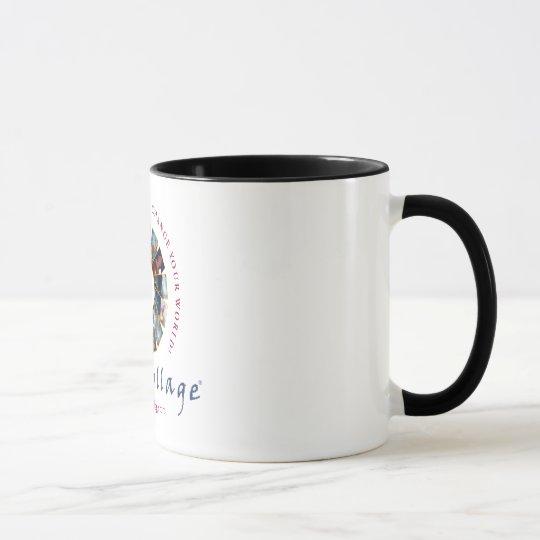 SoulCollage® Logo Ringer Mug