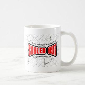 souled out coffee mug