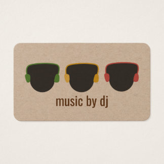 Wedding dj business cards business card printing zazzle uk soulful dj business card reheart Choice Image