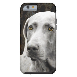 Soulful Eyes of the Weimaraner Tough iPhone 6 Case
