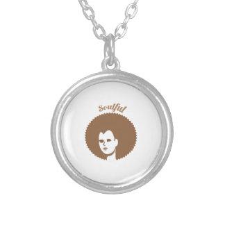 Soulful Round Pendant Necklace