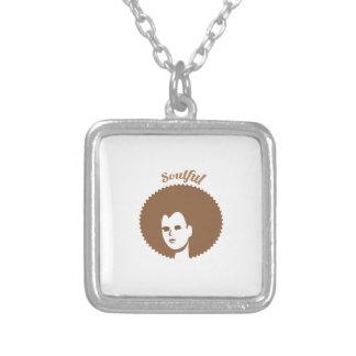 Soulful Square Pendant Necklace