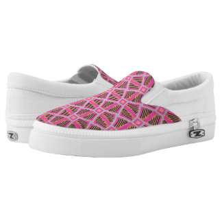 Souliers sneakers Jimette Design pink and black
