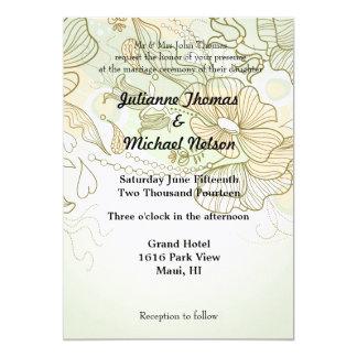"""Soulmate 5"""" X 7"""" Invitation Card"""