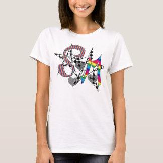 """Soulmates abstract art ""* T-Shirt"