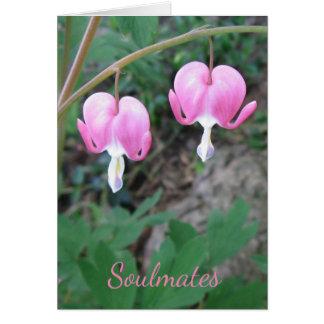 Soulmates Bleeding Hearts Card