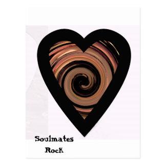Soulmates Rock Postcard
