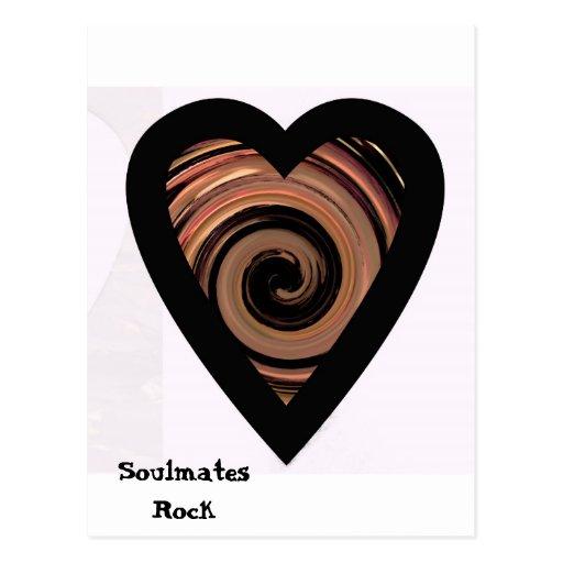 """(""""Soulmates Rock""""* Postcard"""
