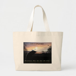 """""""Soulmates Stormy Weather""""* Large Tote Bag"""