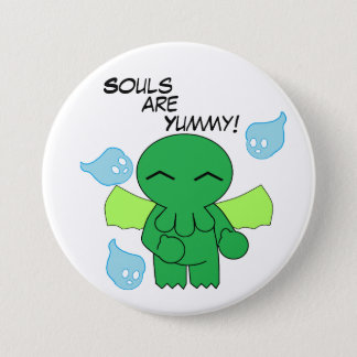 Souls are Yummy! 7.5 Cm Round Badge