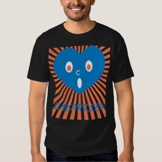 souls, be surprised blue heart ver. tee shirt