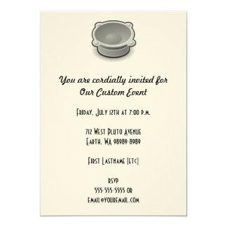 Sound 13 Cm X 18 Cm Invitation Card