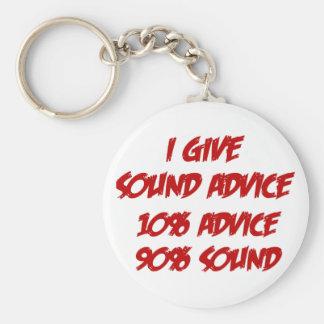 Sound Advice Key Ring