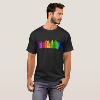 Sound Bars Graphic Tee Music Stereo T-Shirt