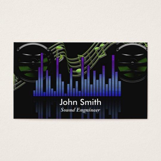 Sound Engineer or freelance music producer studio Business