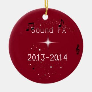 Sound FX show choir Christmas Ornaments