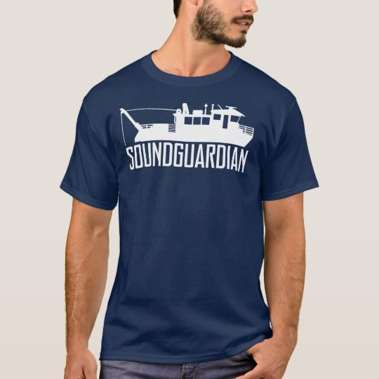 Sound Guardian Mens Navy Blue T-Shirt