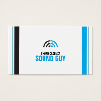 Sound Guy (3f) Business Card