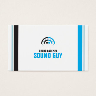 Sound Guy (4a) Business Card