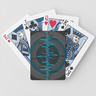 Sound Light Blue Dark playing cards vertical
