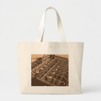 Sound Mixing Board Tote Bag