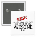 Sound Of Awesome Funny Button Humour