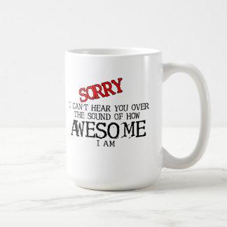 Sound of Awesome Funny Mug Humour