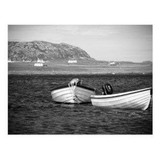 Sound of Iona Boats Postcard