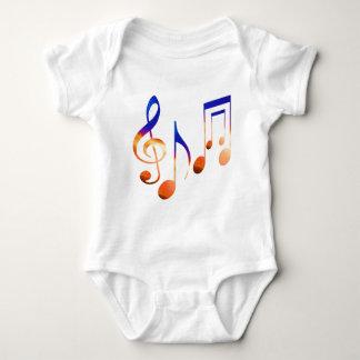 Sound of Music - Dancing Symbols T-shirts