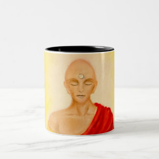 Sound of Silence / Som do Silêncio Two-Tone Coffee Mug