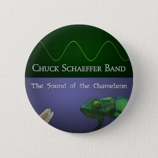 Sound of the Chameleon 6 Cm Round Badge