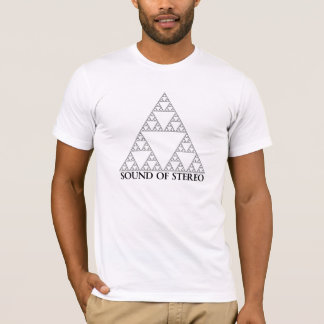 Sound off Stereo Triangle Logo T-Shirt