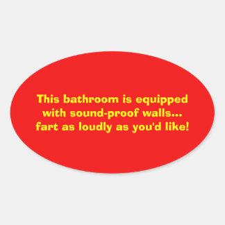 sound proof bathroom walls sticker