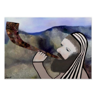 Sound the Shofar Print