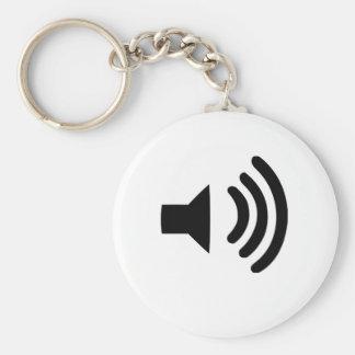 Sound Volume Symbol Keychains